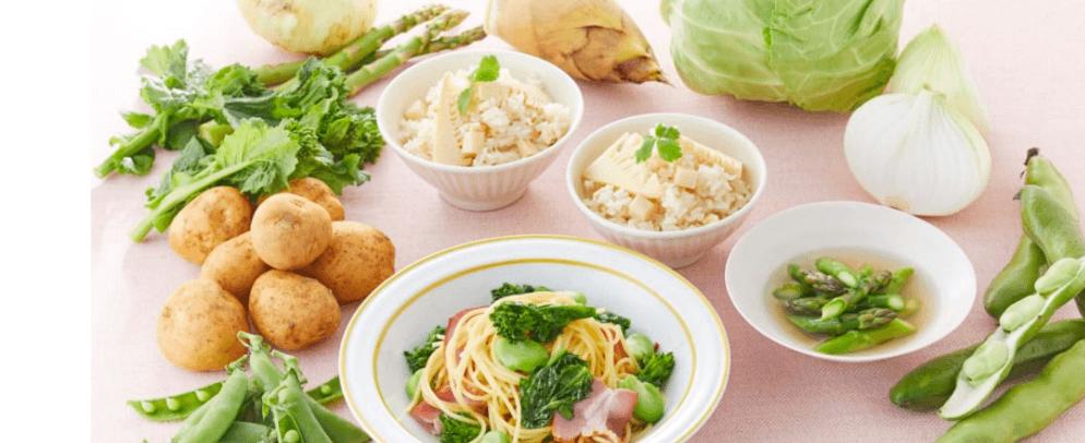 春野菜と呼ばれる食材
