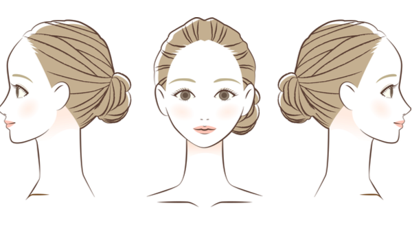 理想的な美しいヘアラインとは