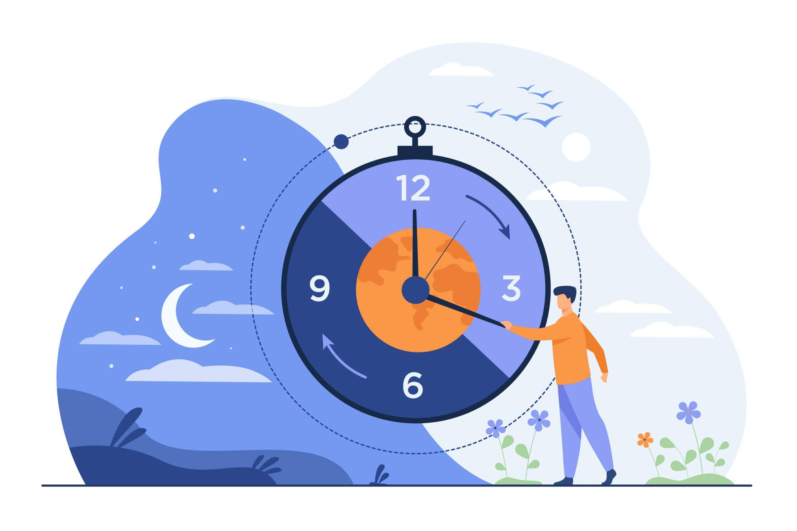 朝と夜の過ごし方を見直すことで春の眠気対策!